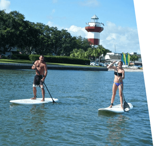 Paddle Board in Hilton Head