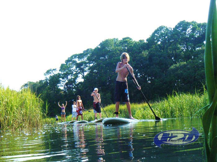 Stand Up Jet Ski >> Paddle Board on Hilton Head Island - Stand Up Paddle Boarding